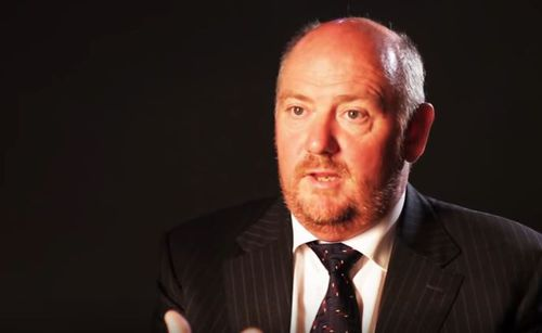 Richard Cousins is the CEO of catering giant Compass. (Youtube)