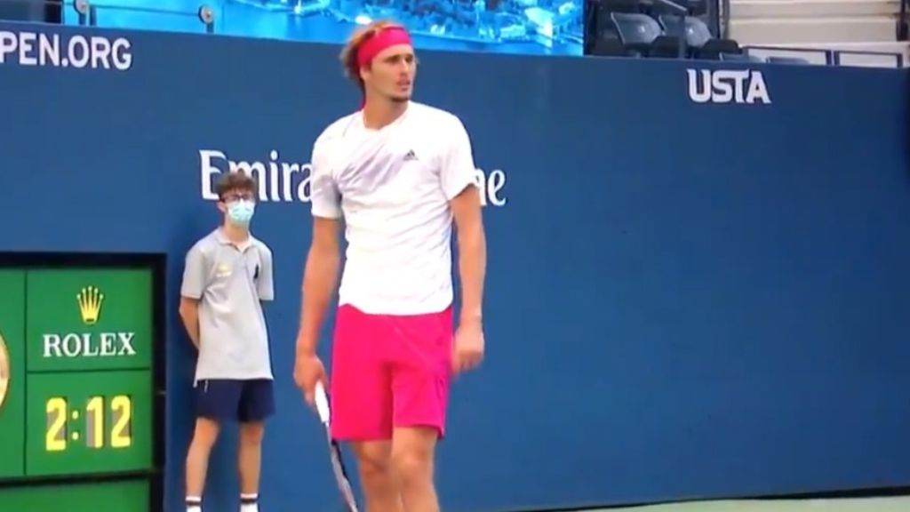 Alexander Zverev sprays courtside commentator after discussing star's 'double faults'