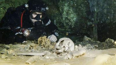 Ancient underwater remains under threat