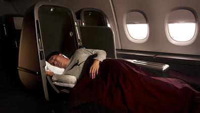 Qantas A380 Business Skybed