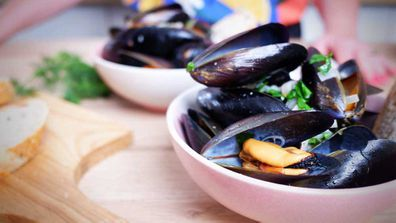 Mussels are the cheapest seafood dinner, ready in ten minutes