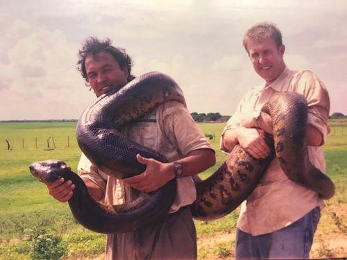 trekked through swamps trying to find giant anacondas – phenomenal memories.