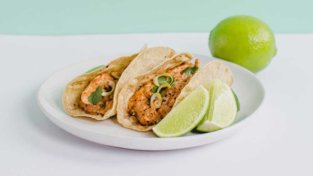 Mulato chicken tacos