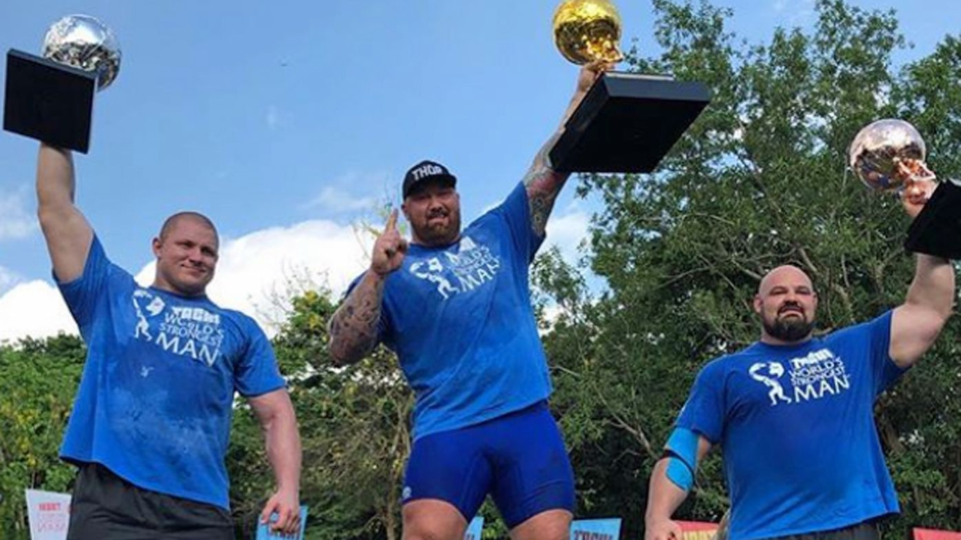 Thor Bjornsson finally claims World's Strongest Man crown