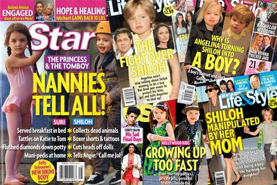 """The little ones of famous people got more papped than ever this year - but the biggest 'headlines' were concerned with <b>Shiloh Jolie-Pitt</b> getting dressed up like a """"boy""""...<br/><P><br/>...<b>Suri Cruise</b>'s 'diva' behaviour'..."""