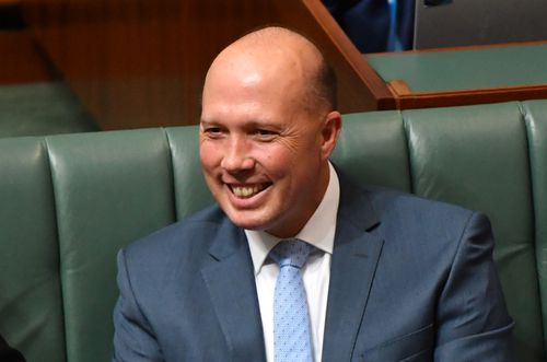 Minister for Immigration Peter Dutton has expressed concern over foreign-born criminals abusing the legal system. Picture: AAP