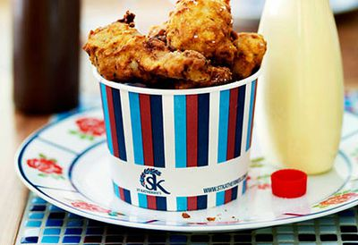 Kat's fried chicken