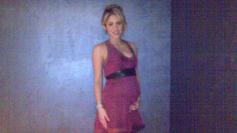 First pic of Shakira's baby bump