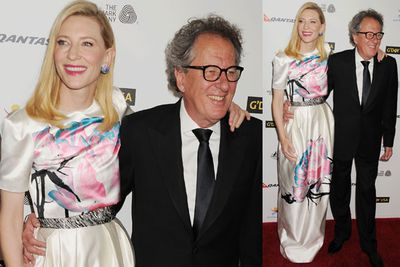 <i>Blue Jasmine</i> star Cate Blanchett and <i>The Book Thief</i> star Geoffrey Rush