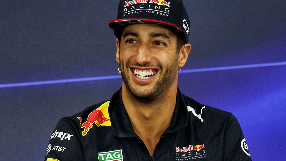 Formula One: Daniel Ricciardo confirms he's staying at Red Bull