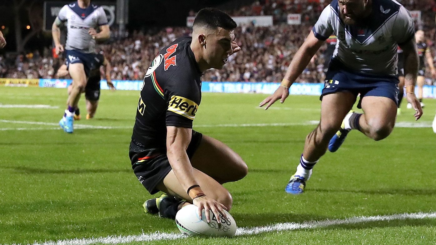 Andrew Johns urges Penrith to try Charlie Staines at fullback following injury to Dylan Edwards