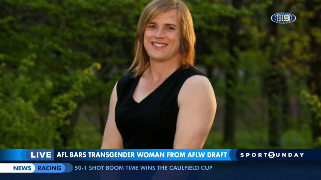 AFL accused of hypocrisy over transgender player