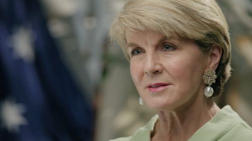 In her first major interview since the latest leadership spill, former deputy leader of the Liberal Party Julia Bishop is set to speak out on the bluster, bullying and allegations of sexism in Australian politics.