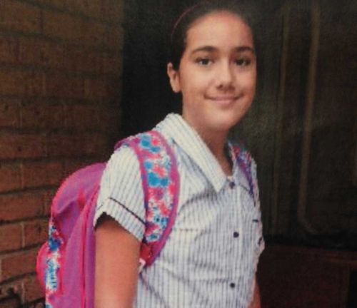 Tiahleigh's uniform and backpack (pictured) remain missing.