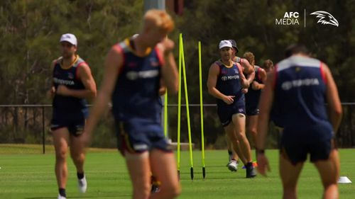 The club's physical programs have also come under scrutiny, as their injury toll mounts. Picture: 9NEWS