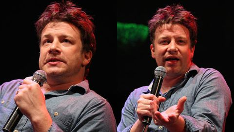 Jamie Oliver slams Aussie reporter for mentioning his weight gain