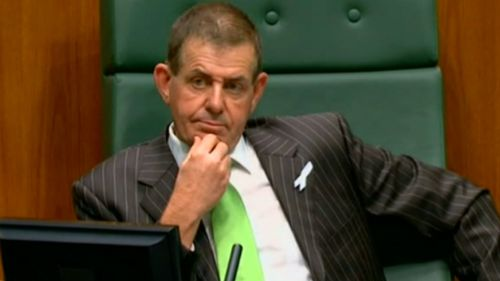 Slipper resigned as parliamentary Speaker in October 2012. (60 Minutes)