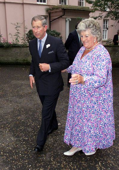 Lady Mary Colman with Prince Charles