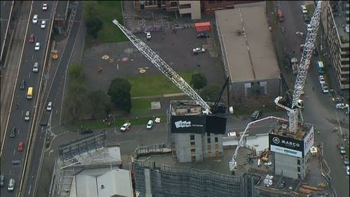 Emergency services have responded. (9NEWS)