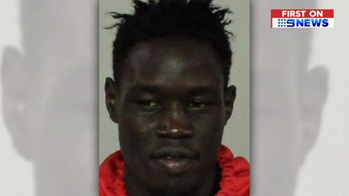 Majok Aneet appeared in court today.