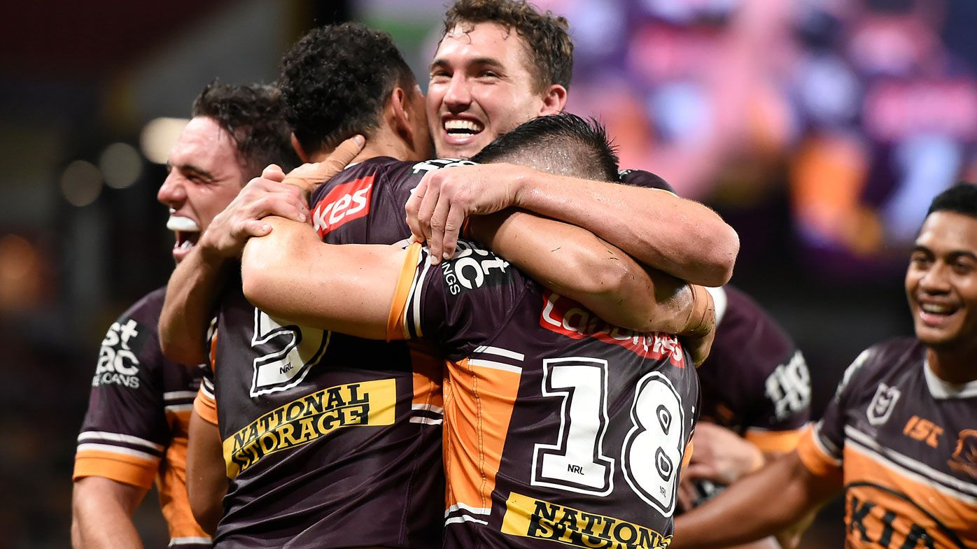 The Brisbane Broncos snap their six-games losing streak. (Getty)