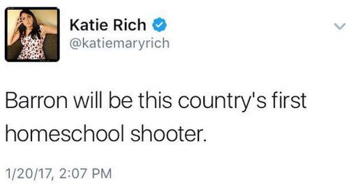 Rich's tweet about Barron Trump. (Twitter)
