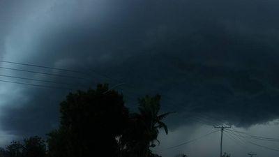 Menacing skies over Kallangur (Facebook: Sheryn Purkiss)