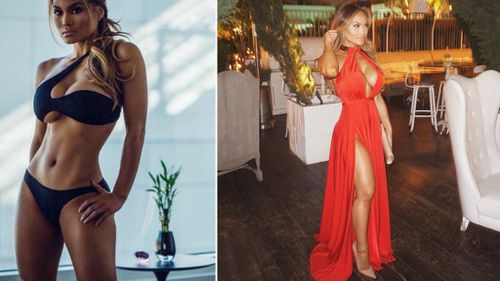 The whole thing was caught on camera by the singer's partner Daphne Joy. (Twitter)