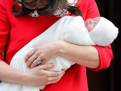 The new royal's official title is His Royal Highness Prince Louis of Cambridge. (PA/AAP)