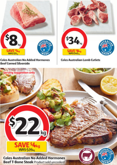 So many delicious ideas for dinners this week at Coles.