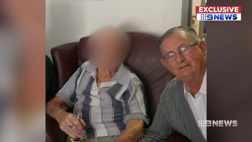 Craig Walsh, whose father resides at the home, decided to contact authorities over the condition. Picture: 9NEWS