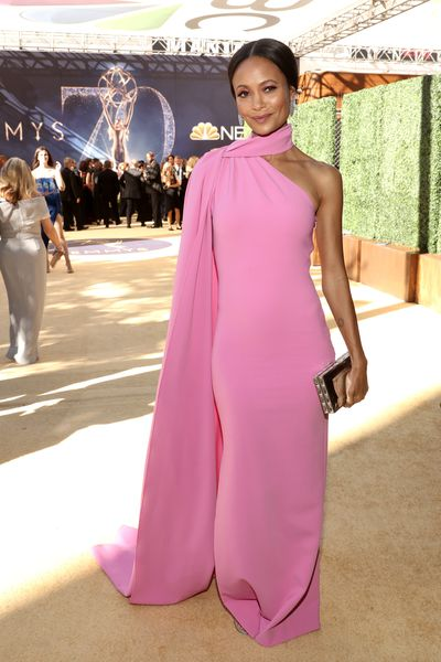 Actress Thandie Newton at the 70th Annual Emmy Awards