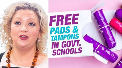 Free tampons in Victorian schools under Labor promise