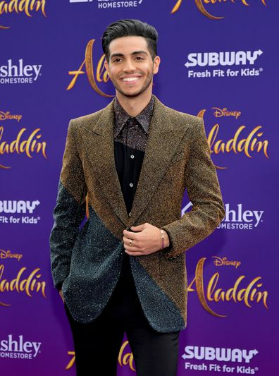 Mena Massoud, Aladdin, premiere