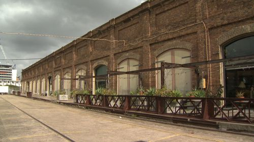 The Eveleigh site eyed by Google for its Australian headquarters. (9NEWS)