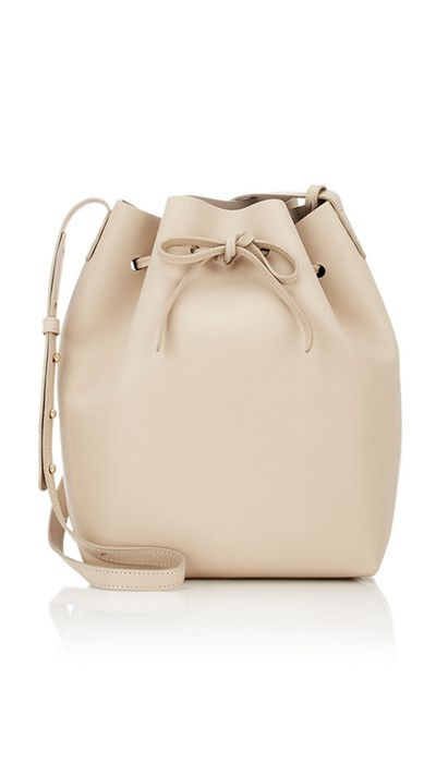 "<a href=""http://www.barneys.com/Mansur-Gavriel-Large-Bucket-Bag-504003626.html"" target=""_blank"">Bag, $985, Mansur Gavriel at barneys.com</a>"