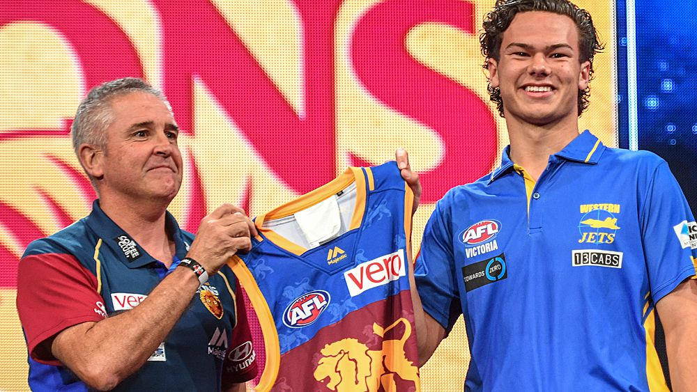 Lions take Rayner with No.1 AFL draft pick