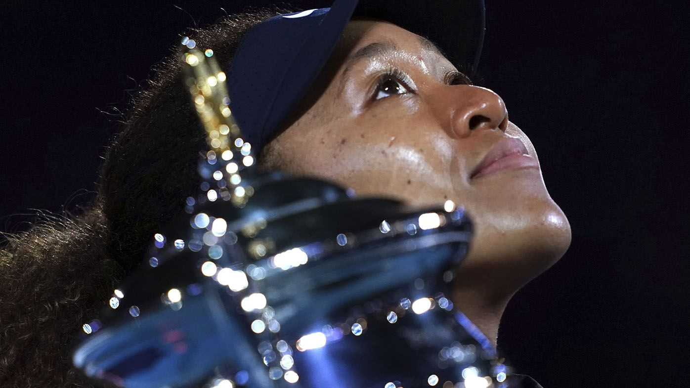Naomi Osaka sets sights on French Open, Wimbledon after Australian Open triumph