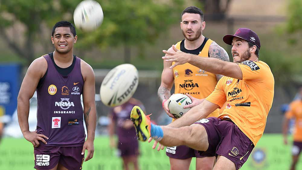 Ben Hunt (right) will leave the Broncos at the end of the season for the Dragons. (AAP)