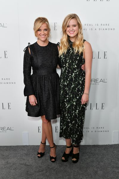 Ava Phillippe and Reese Witherspoon at ELLE's 24th Annual Women in Hollywood Celebration in Los Angeles, October, 2017