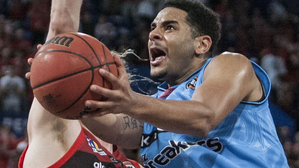 New Zealand Breakers star Corey Webster has been charged with assault. (AAP)