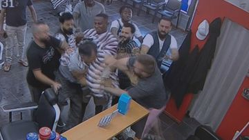 Hayden's Barbershop Perth brawl