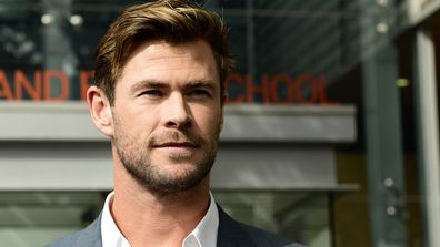 Australian actor and Thor star Chris Hemsworth