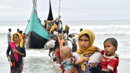 More than 900,000 displaced Rohingya are currently in Bangladesh, and another 530,000 in the Rakhine state.