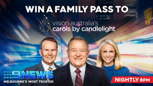 Win a family pass to Vision Australia's Carols by Candlelight!