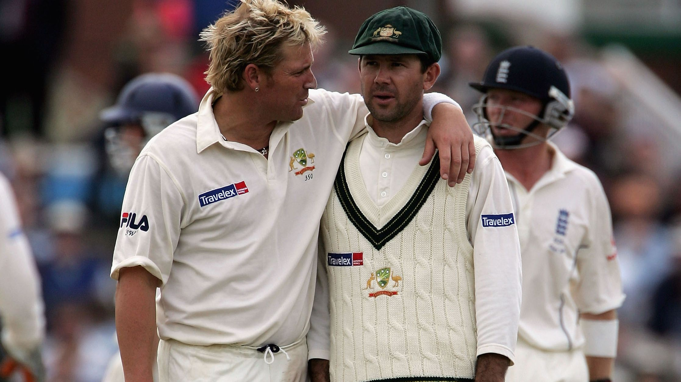 Shane Warne and Ricky Ponting