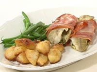 Pancetta and herb whiting