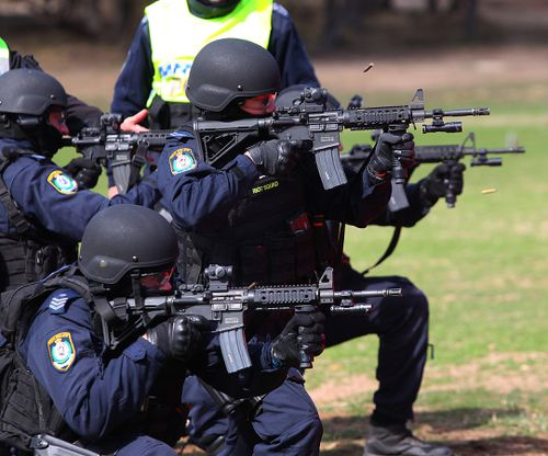 47 Public Order and Riot Squad officers have undergone training for the new guns.