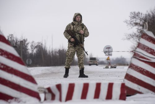 Ukrainian President Petro Poroshenko announced that all Russian men aged 16 to 60 were barred from entering the country