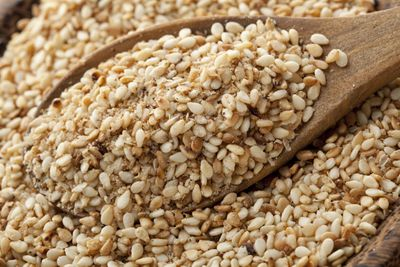 <strong>...sesame seeds.</strong>